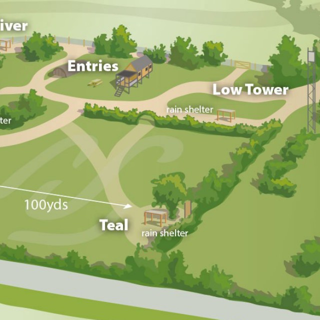 Clay Shooting Site Map