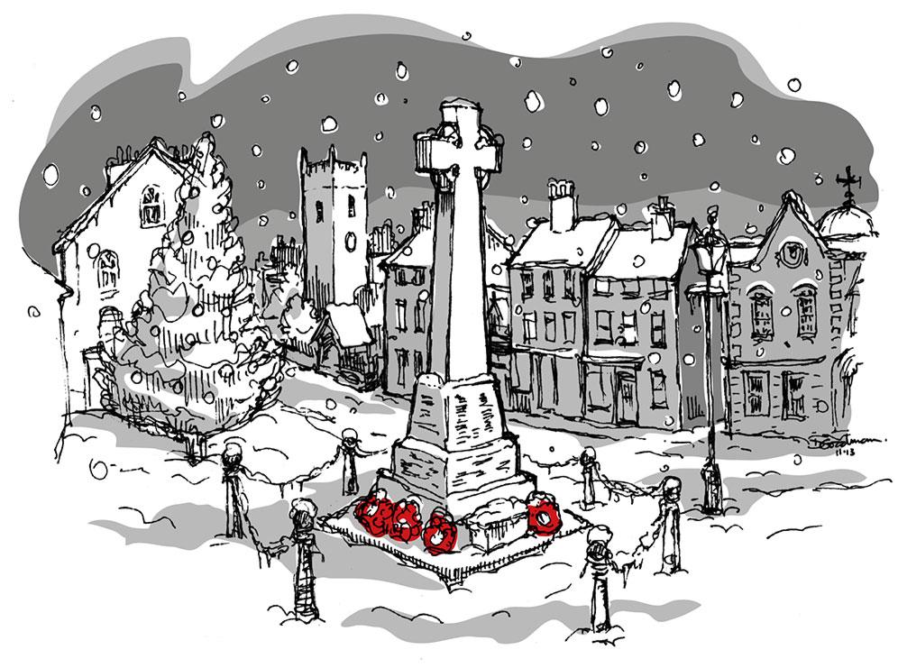 Llanfyllin-Christmas-Square