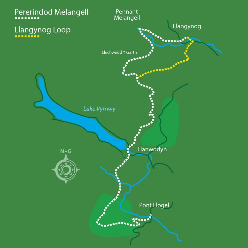 Llangynog-Loop-Map