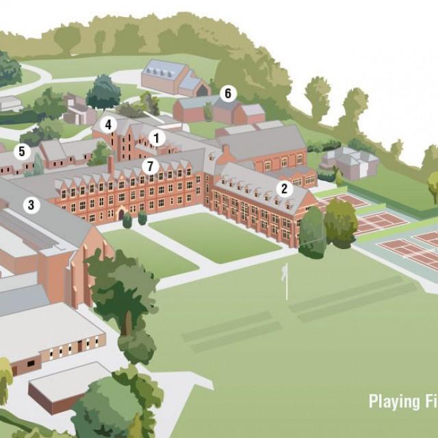 College Campus Map