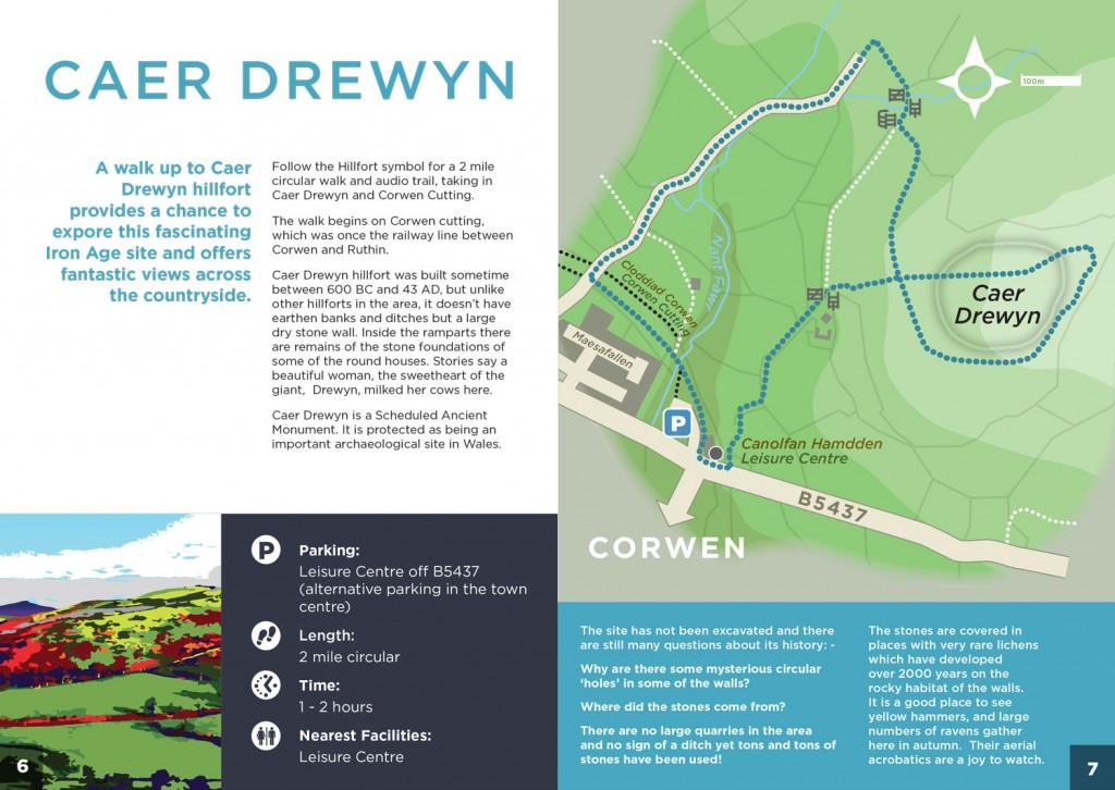 Discovering-Corwen-Caer-Drewyn