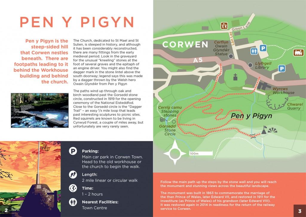 Discovering-Corwen-Pen-y-Pigyn