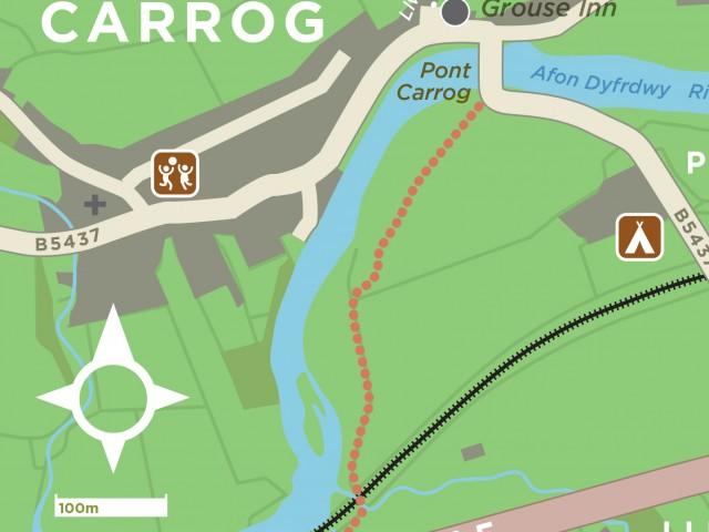 Dee Valley walking maps
