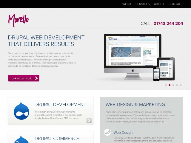 Digital Marketing Agency Web Design
