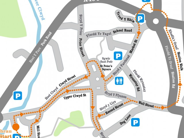 Welsh Town Trail Maps