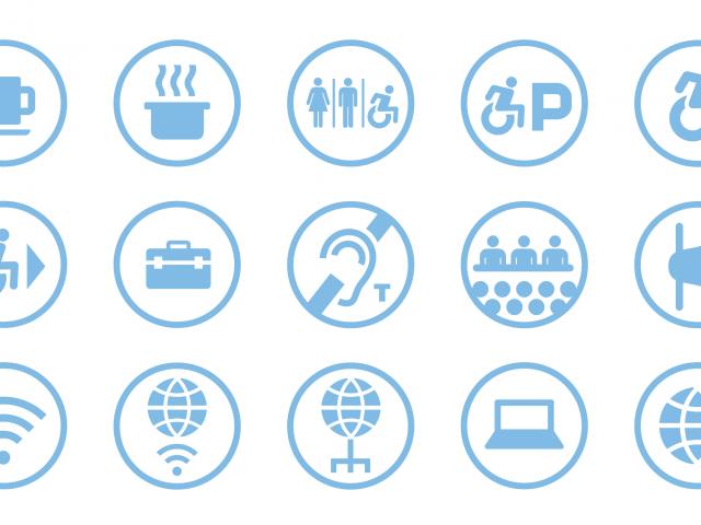 Public Hall Icons