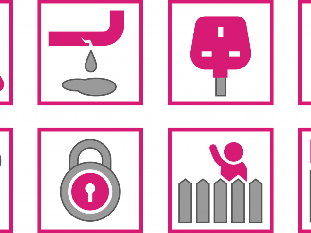 Property Company Icon Set