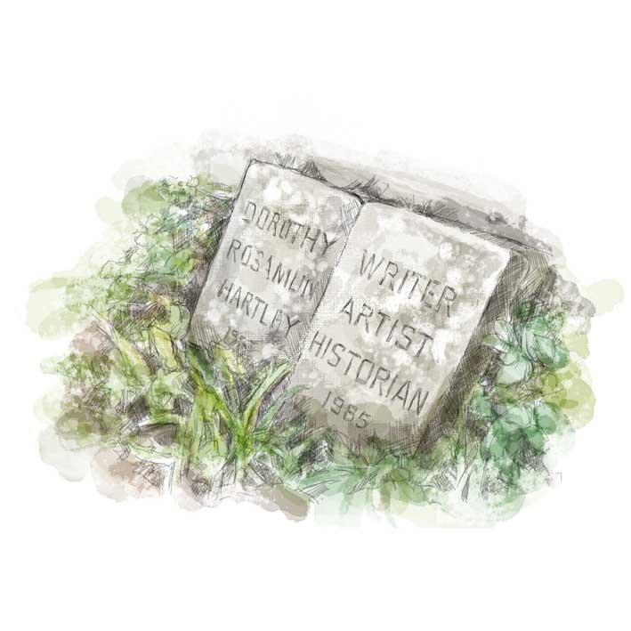 Froncysyllte---author-stone