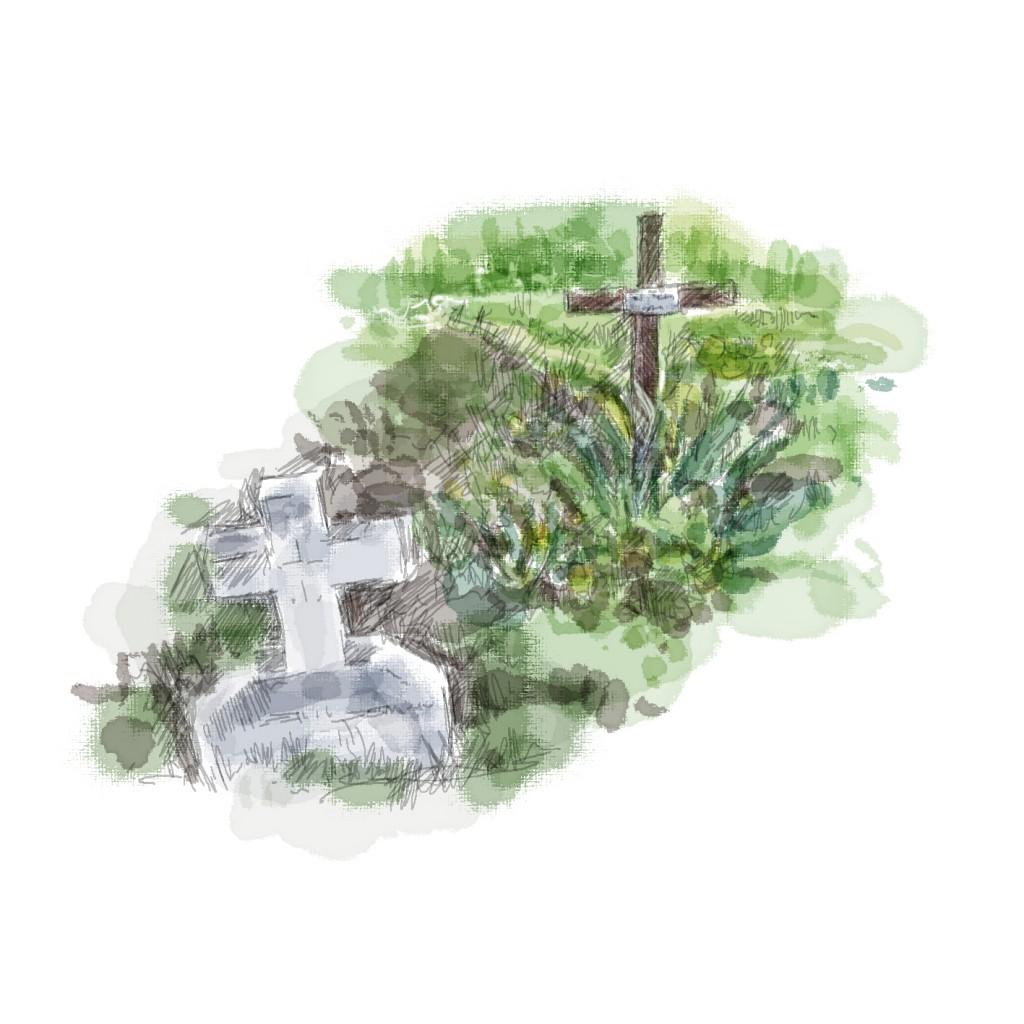 Penley - Polish child grave