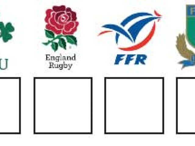 2017 RBS Six Nations Rugby Wallchart for downloading