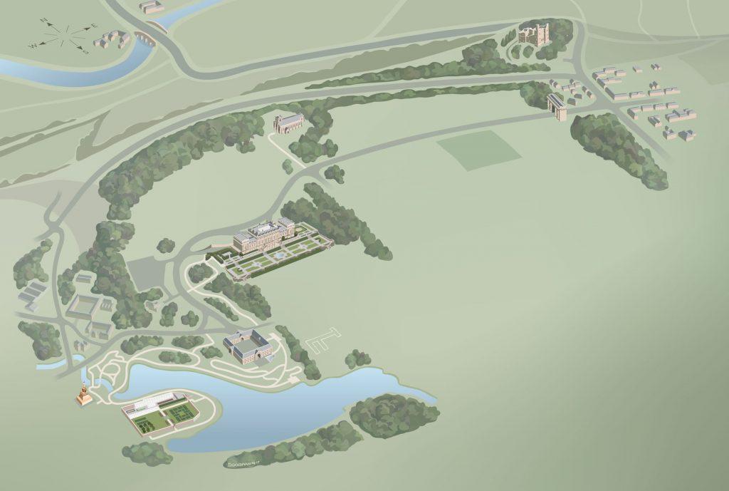 Harewood-map